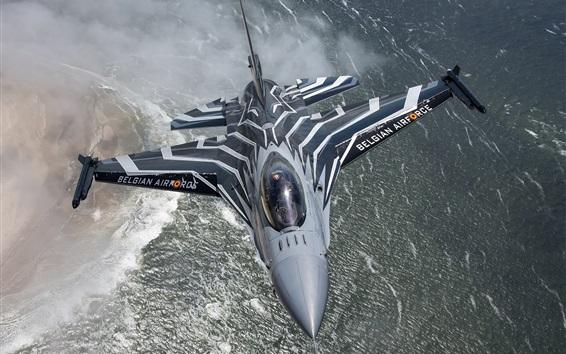 壁紙 多機能F-16戦闘機