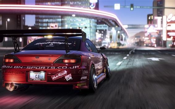 Papéis de Parede Need For Speed: Payback, vista traseira do Nissan Race