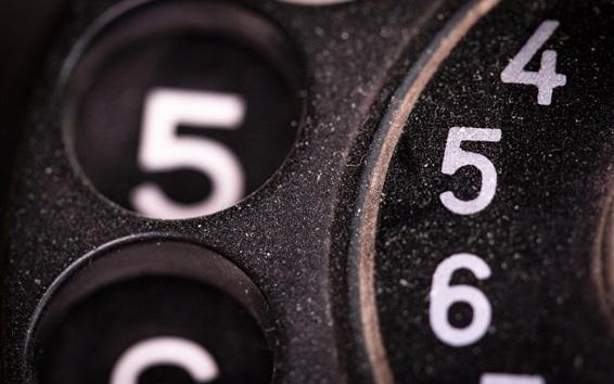 Fond d'écran Carte téléphonique, numéros