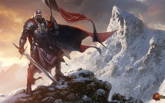Papéis de Parede Ascensão dos Senhores Supremos, guerreiro