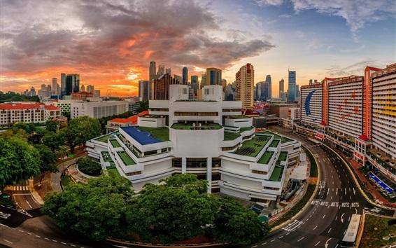 Wallpaper Singapore, special buildings
