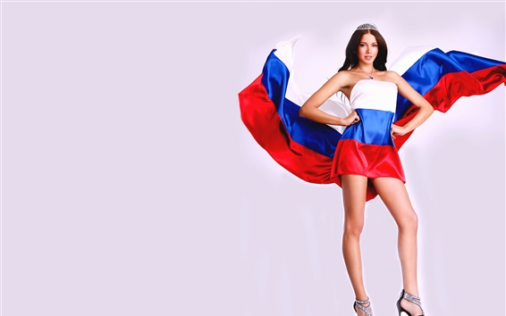 Fondos de pantalla Sofia Nikitchuk, Miss Rusia