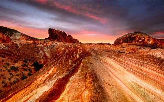 Обои США, Невада, каньоны, пустыня
