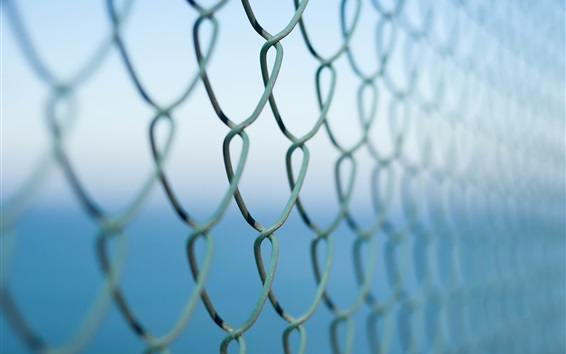 Wallpaper Wire fence