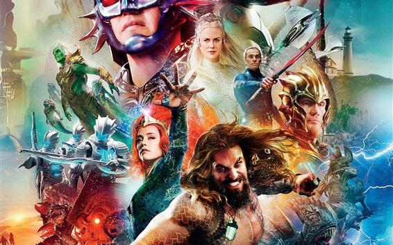 Fondos de pantalla Aquaman 2018