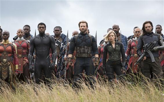 Fond d'écran Avengers: Infinity War, DC Comics, film de 2018