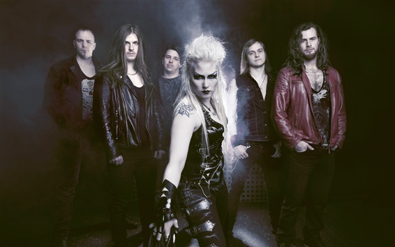 Wallpaper Battle Beast, Finland Heavy metal band