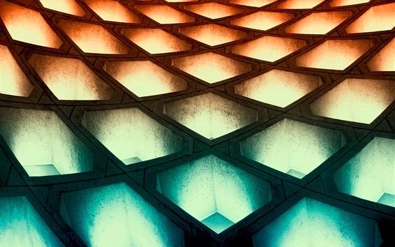 壁紙 建物の構造、照明、照明