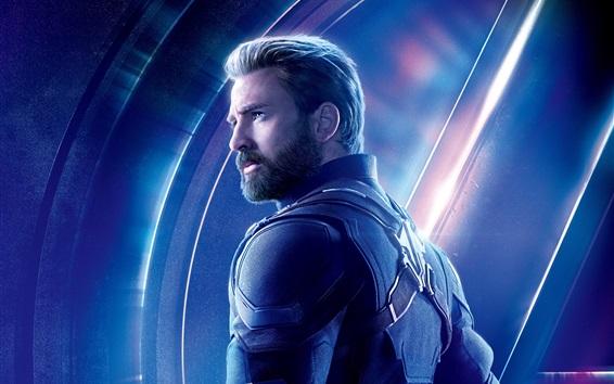 Fondos de pantalla Capitán América, Vengadores: guerra infinita