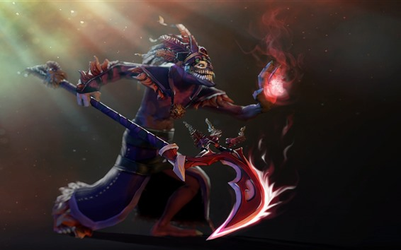 Wallpaper Dota 2, priest, art picture
