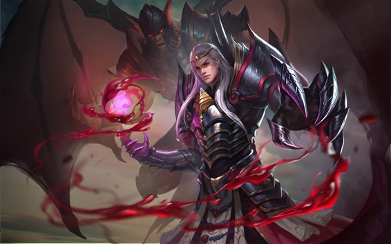 Wallpaper Heroes of Newerth, monster, vampire, blood