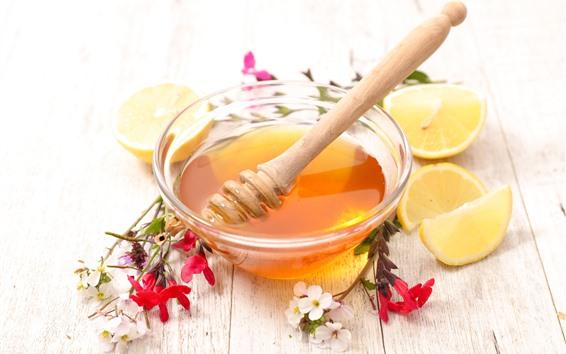 Wallpaper Honey, lemon, flowers