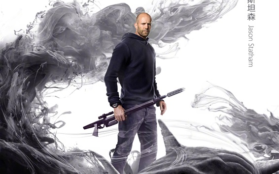 Wallpaper Jason Statham, The Meg