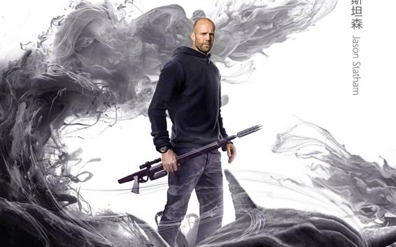 Fond d'écran Jason Statham, Le Meg