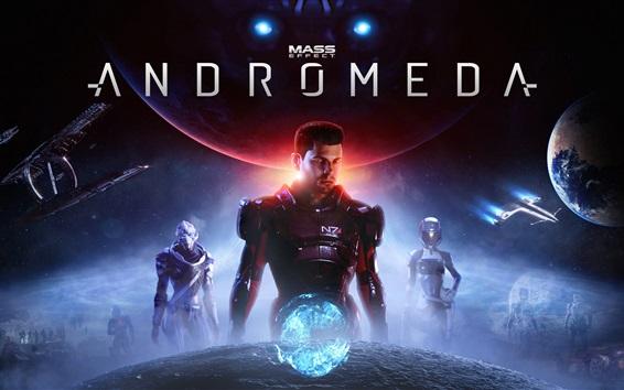 Fondos de pantalla Mass Effect: Andromeda, juego de rol de acción