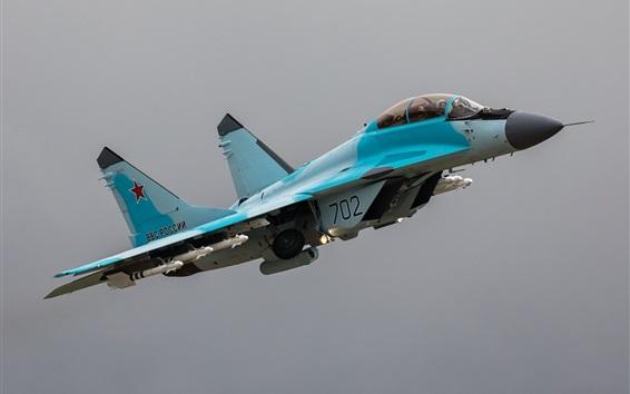 Обои Многофункциональный истребитель МиГ-35