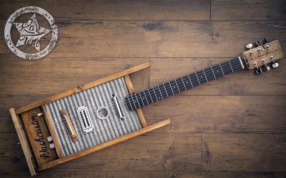 Papéis de Parede Música, guitarra criativa
