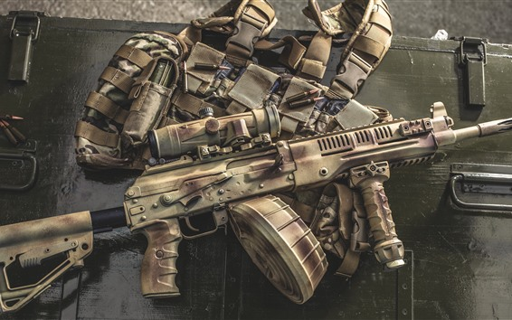 Wallpaper RPK-16 LMG Light Machine Gun