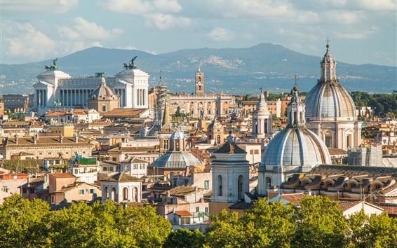 Fond d'écran Rome, italie, europe, ville, bâtiments