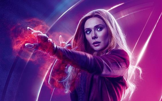 Wallpaper Scarlet Witch, Avengers: Infinity War