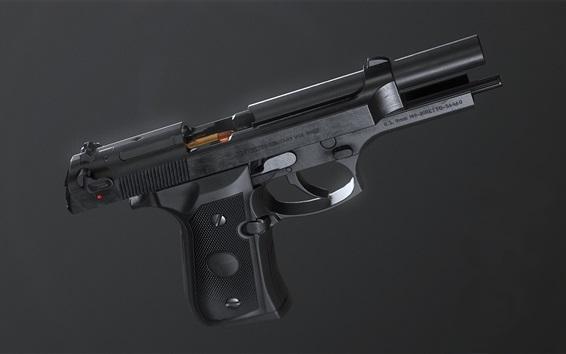 Papéis de Parede Pistola autoportante, arma