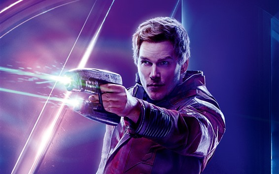 Wallpaper Star-Lord, Avengers: Infinity War