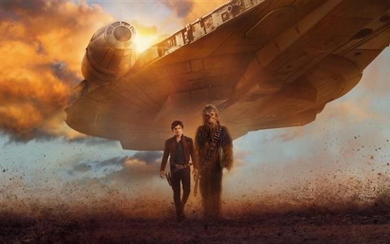 Papéis de Parede Star Wars, nave espacial, homem, guerreiro