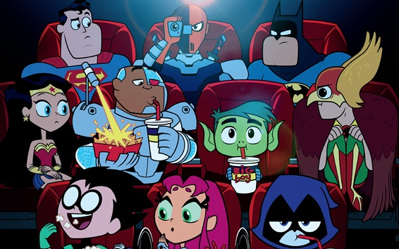 Wallpaper Teen Titans Go To the Movies