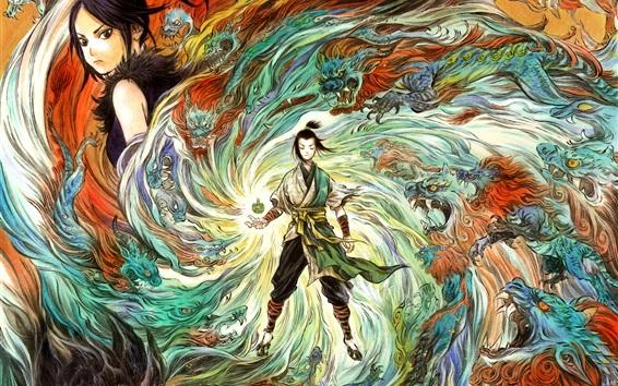 Fondos de pantalla The Wind Guardians, imagen de arte