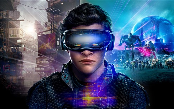 Fond d'écran Tye Sheridan, Ready Player One 2018