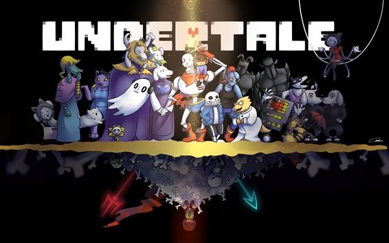Обои Игра Underlale, RPG