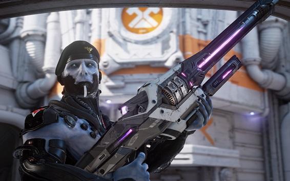 Fondos de pantalla Unreal Tournament, soldado, arma