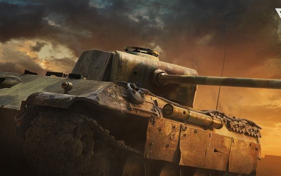 Wallpaper War Thunder, Cinematic, tank