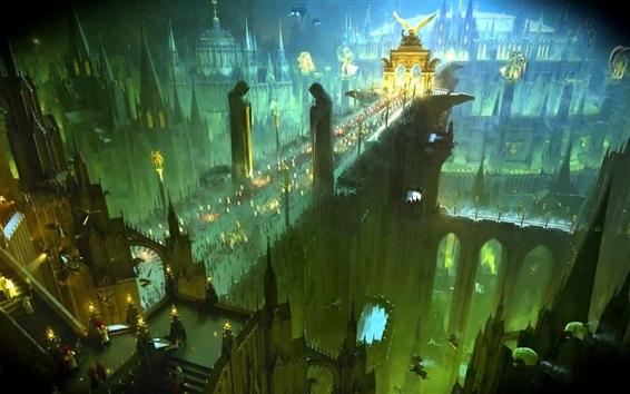 Wallpaper Warhammer 40K, Imperium of Mankind, art picture