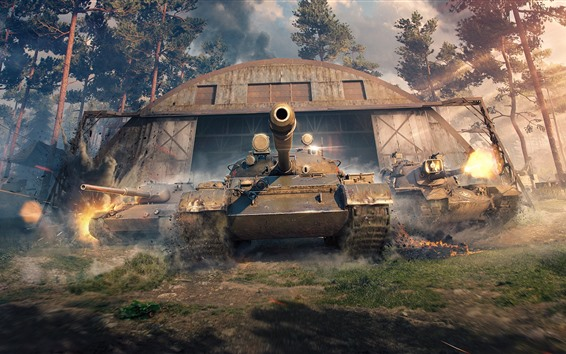 Wallpaper World of Tanks, Wargaming Net games