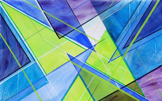 Fond d'écran Formes abstraites, couleurs