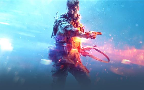 Wallpaper Battlefield 5, EA games, soldier