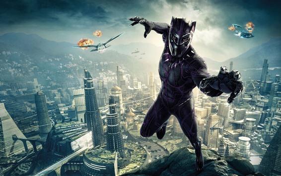 Fondos de pantalla Black Panther, película de 2018, DC Comics