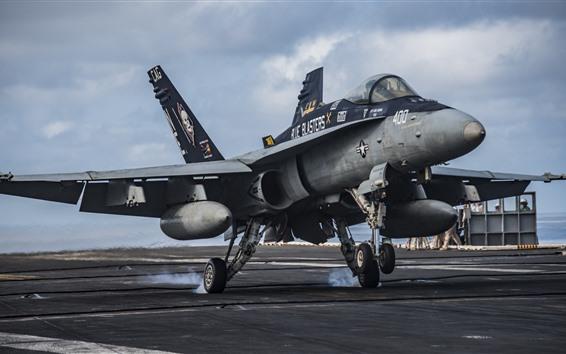 Papéis de Parede Lutador de zangão FA-18C