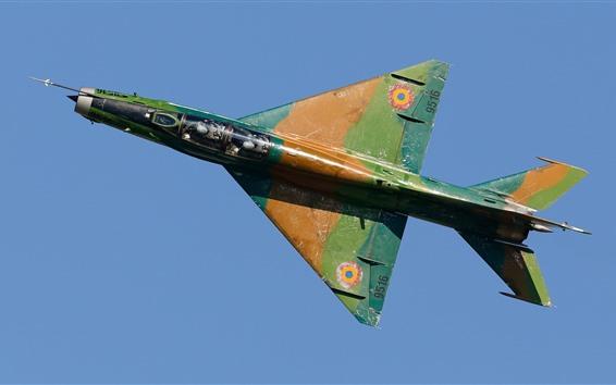 Wallpaper Fighter, plane, flight, sky