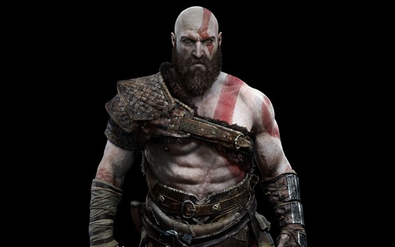 Wallpaper Kratos, God of War