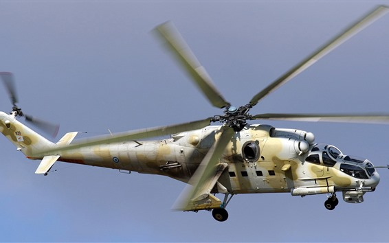 Papéis de Parede Helicóptero de ataque Mi-35P