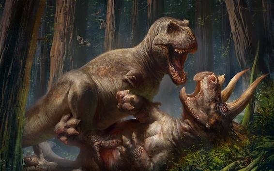 Fonds Décran Animaux Préhistoriques Dinosaures