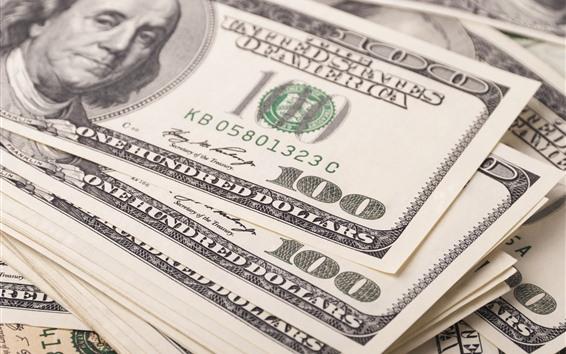 Papéis de Parede Algum dinheiro, dólares