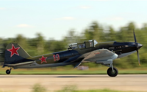 Papéis de Parede Aviões de ataque soviético decolar
