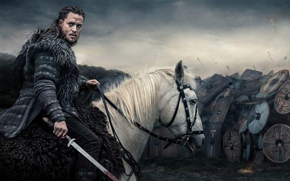 Fondos de pantalla Los vikingos, escudo, armadura, guerrero