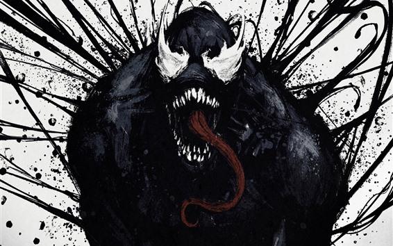 Fondos de pantalla Venom, imagen de arte, horror