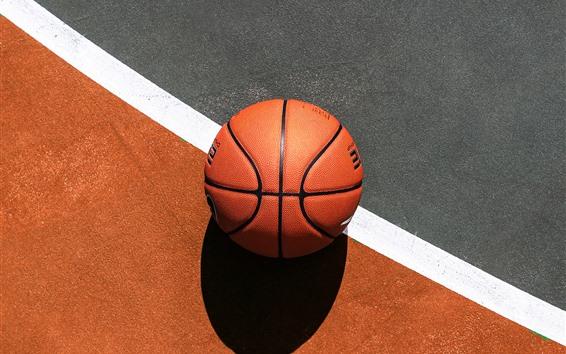 Wallpaper Basketball, ground