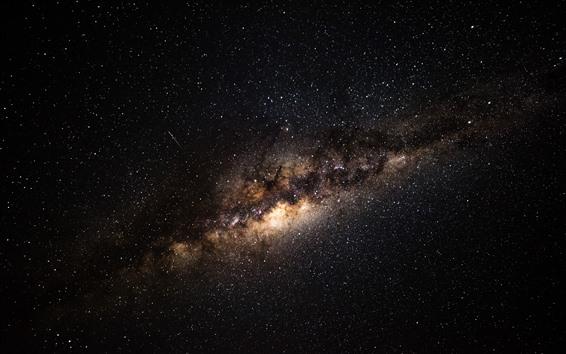 Wallpaper Beautiful universe, milky way, galaxy, stars