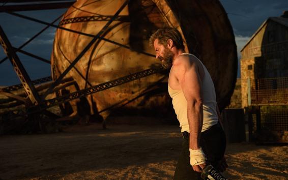 Wallpaper Hugh Jackman, Wolverine, Logan